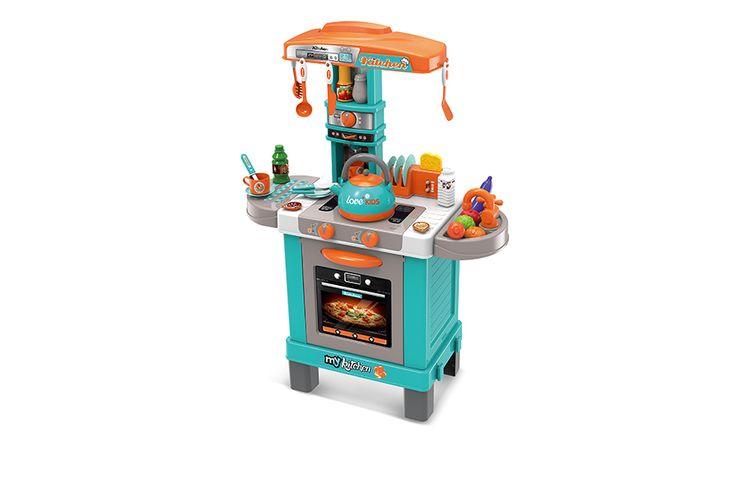 Korting Speelgoedkeuken met geluid en licht (64 x 29 x 87 cm)