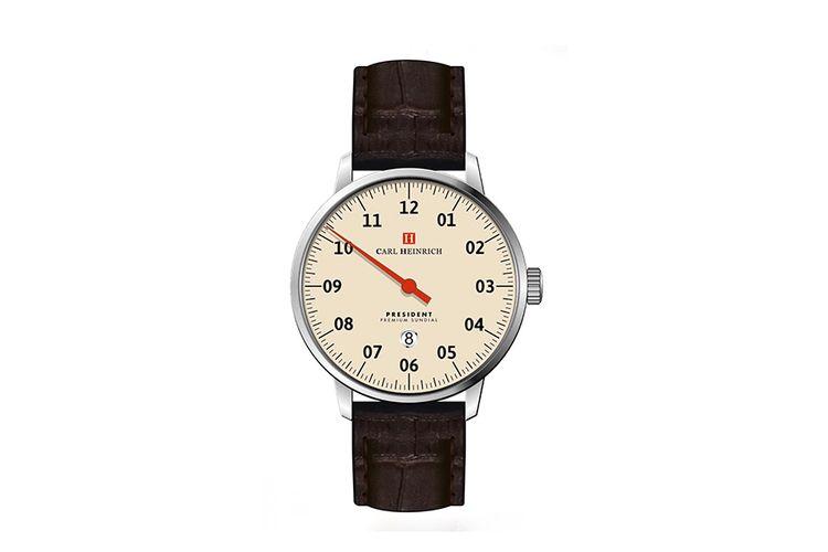 Herenhorloge van Carl Heinrich (model: G1704 BEI-DA)