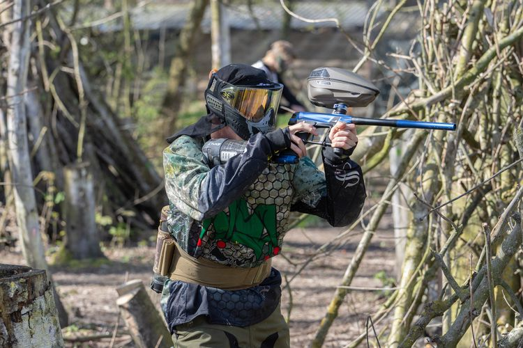 3 uur paintball met 6 tot 10 personen in Almere