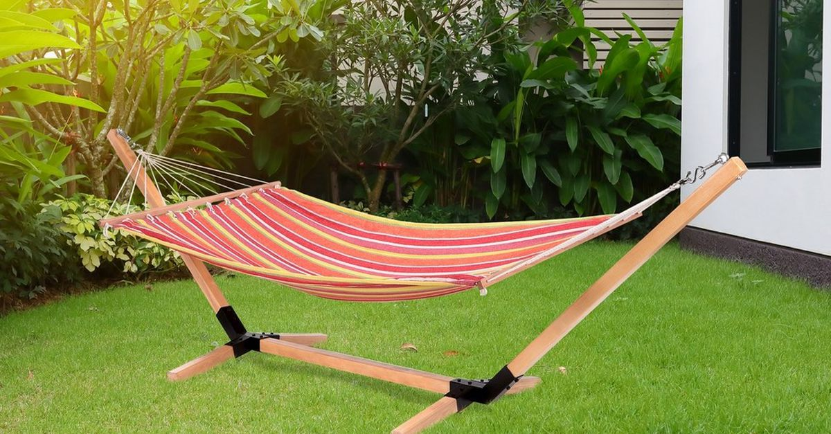 Hamac + support Feel Furniture (Tropical)