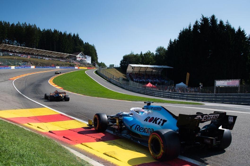 2 tickets voor de Formule 1 GP kwalificatie Belgi� 2021