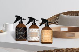 3 verschillende geuren huisparfums (300 ml)