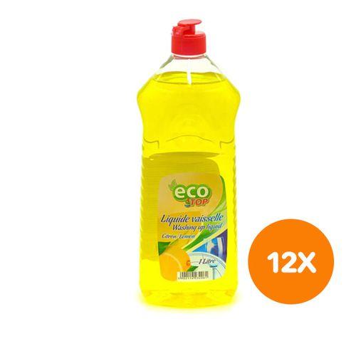12 flessen afwasmiddel van Eco Top