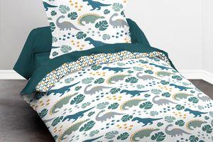 Parure de lit recto-verso pour enfant (140 x 200 cm)