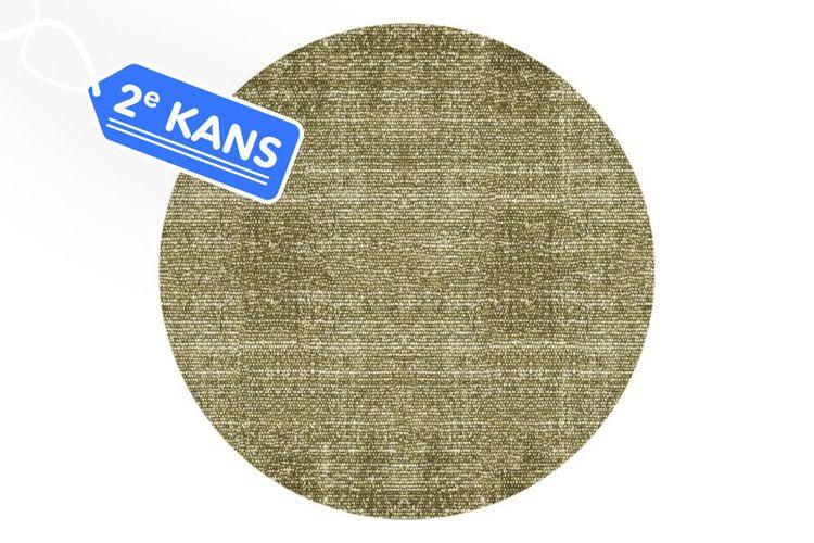 Tweedekansveiling: Vloerkleed - Katoen - 150cm - Groen